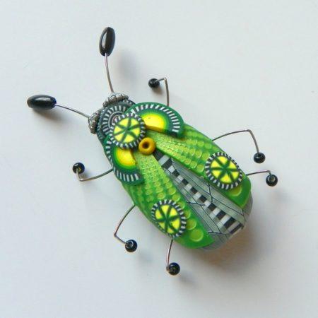 Brož hmyzák zelený