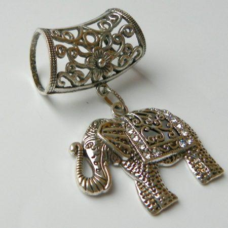 Přívěs na šálu slon
