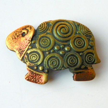 Želvobrožka zelená