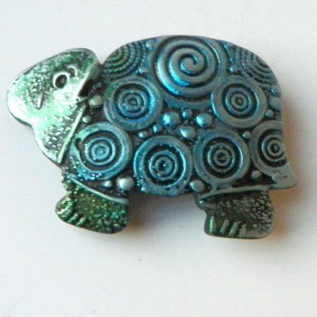 Želvobrožka modrá