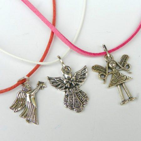 Sada náhrdelníků andělíčci
