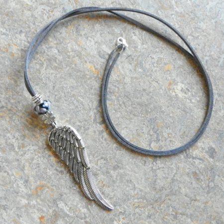 Náhrdelník andělské křídlo