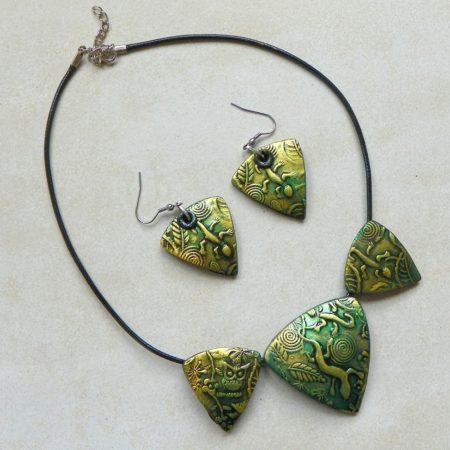 Sada z kolekce Triangl - ještěrka