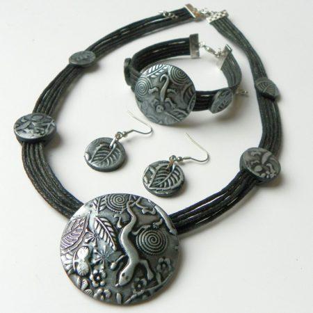 Sada z kolekce Medieval -  ještěrka