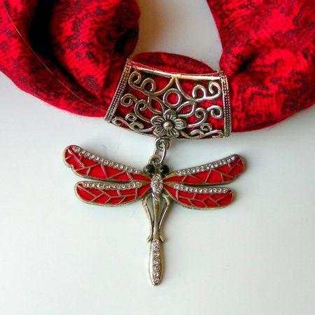 Červená šperkošála - vážka