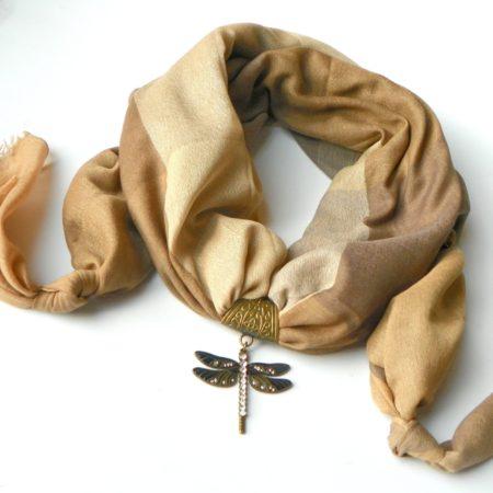 Šperkošála elegance s vážkou