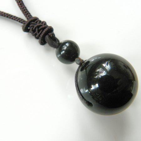 Náhrdelník obsidián