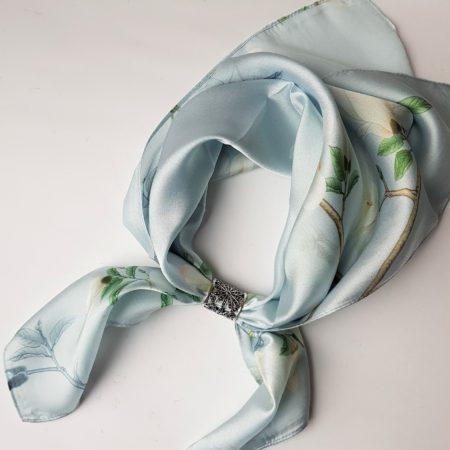 Šátek se spojkou - kvítí