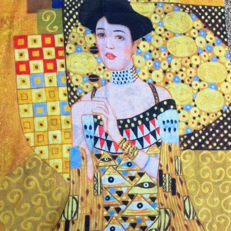 Šála Klimt dáma