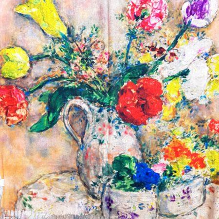 Šála zátiší s vázou