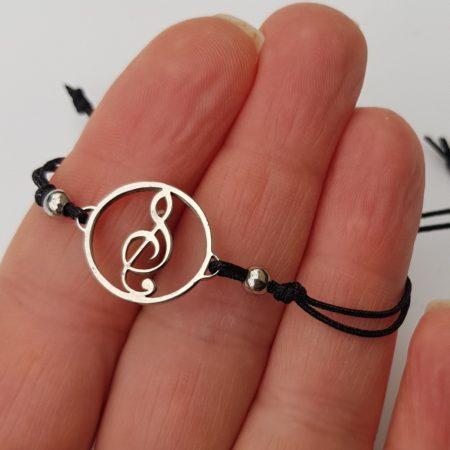 Mikronáramek houslový klíč