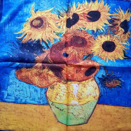 Hedvábný šáteček slunečnice
