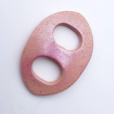 Oválná sponka na šátek - rose stone