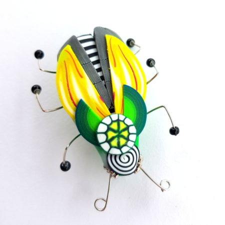 Brož hmyzák citrónový