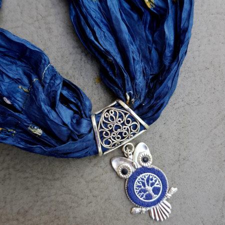 Šperkošála veselá učitelka - modrá
