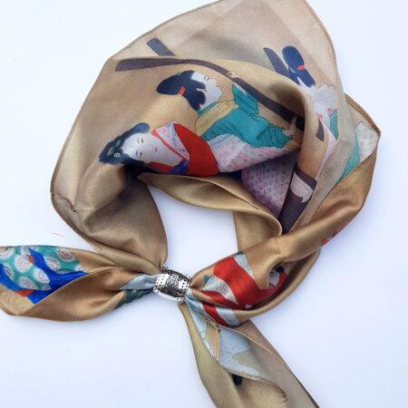 Šátek se spojkou - japonky