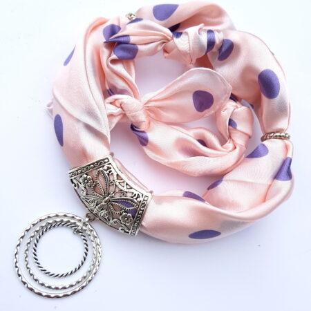 Šátkošperk puntíky a kroužky