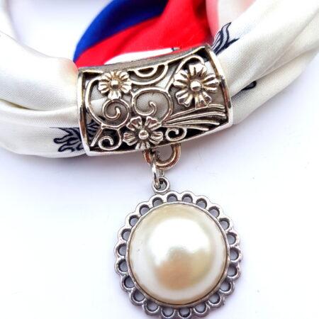 Šátkošperk s perličkou