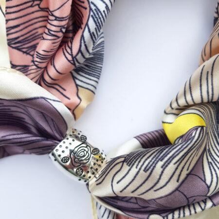 Šátek se spojkou - gladioly